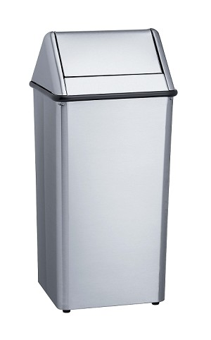 Bradley 377-000000 Waste Receptacle 13 Gallon