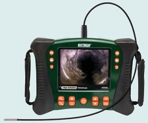 Extech HDV610 HDV 610 Borescope VideoScope Inspection Camera Kit