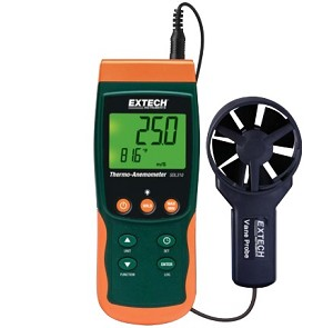 Extech SDL310-NIST SDL 310 NIST Vane Thermo Anemometer Datalogger