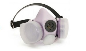 Honeywell B230080 Blue 1H Half Mask Respirator Large Lilac