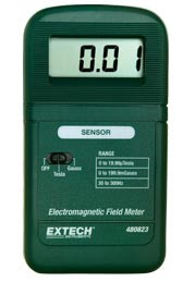 Extech 480823 Single axis EMF ELF Electromagnetic Field Meter