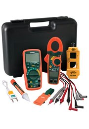 Extech TK505 TK 505 Professional DMM/Clamp Meter Test Kit
