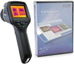 FLIR E60bx E60 bx IR Infrared Thermal Imaging Camera with FLIR Reporter Pro and NIST Calibration