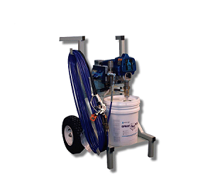 Hardcast Mobile Mastic Duct Sealant Sprayer System