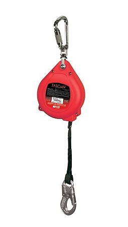Miller MP20P-Z7/20FT Falcon Self Retracting Web Lifeline ANSI Z359