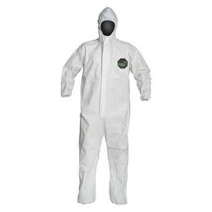 DuPont NB127SWHLG002500 Proshield Hooded Coveralls