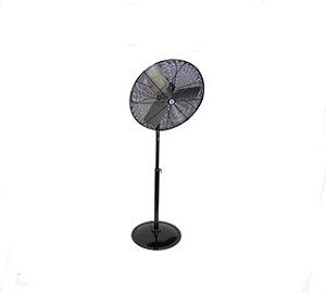 "Schaefer 36PFR-B 36"" Black Fan with Pedestal Stand"