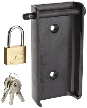 Testo 0554 1703 Padlock Wall Holder Black for 176 Dataloggers