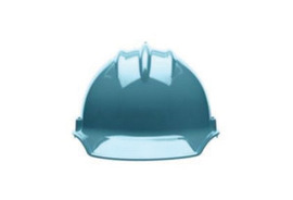 Bullard 30SLP  Slate Blue Classic Series C30 HDPE Cap Style Hard Hat With 6 Point Pinlock Suspension, Accessory Slots And Absorbent Polyester Brow Pad