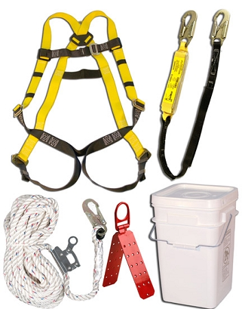 3M Safewaze 20058 Roofing Kit Fall Protection Roof Fall SafetyNet Zero Tools