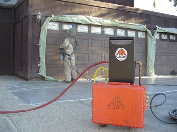 The Air Systems BA-50 Air Blast Cart Is Designed For The Commercial Sandblasting, Coatings & Paint Industries