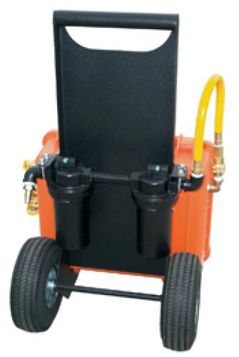 The Air Systems BA-50 Air Blast Cart- 2 is a highly-efficient and portable unit.
