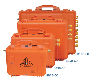 The Air Systems BB50-COO2 Portable Breather Box-3 prevents any occurrence of internal contamination.