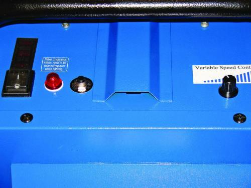 Air Systems International Variable Speed Switch and Control Panel.