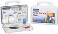 019702-0002L - Plastic Bulk First Aid Kit, 25 Person