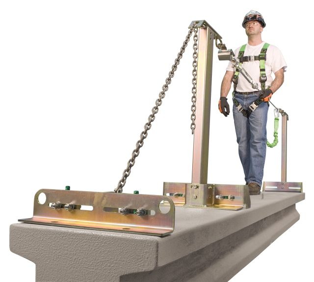 The Miller SkyGrip Temporary Horizontal Lifeline Systems for Concrete Applications is designed to provide user protection and allow better user mobility.