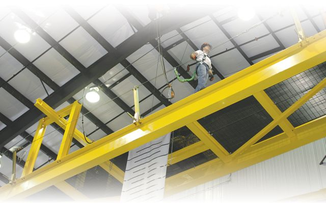 The Miller SkyGrip Temporary HLL System Provides Increased Worker Safety And Mobility