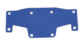 Bullard RBPCOOL  Blue Polartec Replacement Brow Pad For Use With  Suspensions