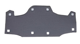 Bullard RBPCOTTON  Gray Cotton Replacement Brow Pad For Use With  Suspensions