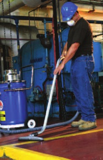 Air Systems International AV-4POLY Electric Power HEPA Vacuum