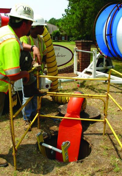 Air Systems International Saddle Vent Enables Unrestricted Access To Manholes And Other Confined Spaces