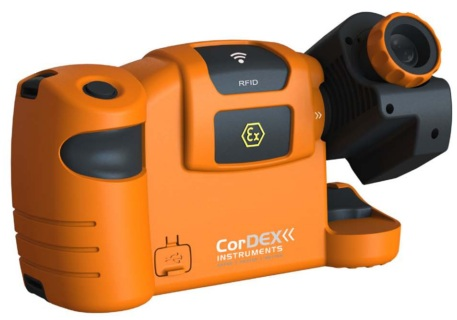 CorDEX TC7000 Features A High Resolution 320 x 240 Infrared Detector