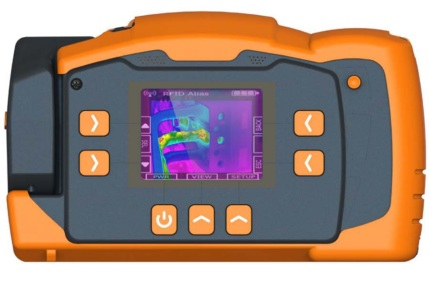 CorDEX TC7000 Easily Locates Hotspots With A 3.2 Inch Backlit LCD