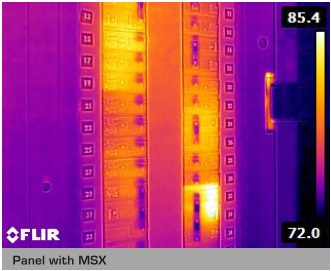 Infrared Thermography With FLIR MSX Enhancement