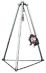 Miller MR130SX/130FT MightEvac Stainless Lifeline with 9 foot Tripod