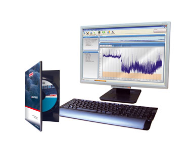 The Kimo DB 100 Sound Level Meter Includes LDB200 Software For Data Display And Measurement Reporting