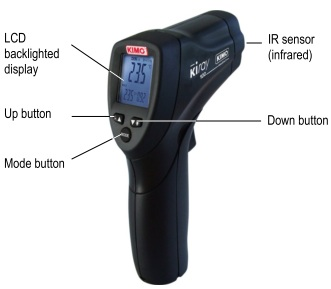 The Kimo KIRAY 100 Infrared Thermometer Is Extremely Easy To Use