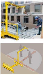 Miller Edge 9081/9.5FT Fall Protection System Is Cost Effective And Efficient
