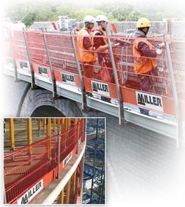Miller Epic M3203BULK/ ULTRA Barrier System Combines Guardrails, Steel Mesh Barrier And Toeboard Into One Convenient Product
