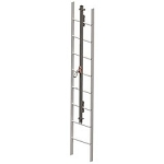 Miller GG0290 GlideLoc 290 Ft. Galvanized Ladder Climbing System Kit Fall Protection Equipment