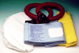 Novatek 307.3350 Includes A HEPA Filter And Collection Bags