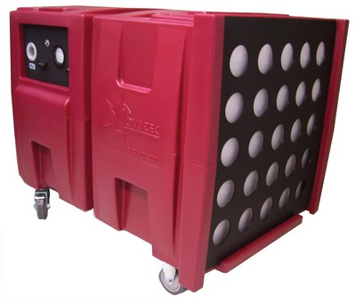 Novatek F2201 Novair 2000 Is The Most Powerful Air Scrubber In Its Class