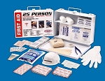 Rapid Care 25 Person OSHA ANSI First Aid Kit Construction Industrial