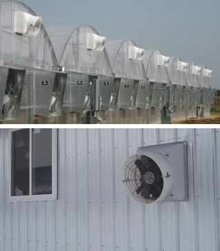 Schaefer PFM1600-1 Is An Energy Efficient Exhaust Fan For Greenhouses, Warehouses And Garages