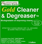 Green Earth Biodegradable Oil Dispersing Gold Cleaner & Degreaser 5gal