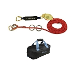 Falltech  77300S  2-Person 60' Kernmantle Rope HLL with Energy Absorber for Stanchion Systems
