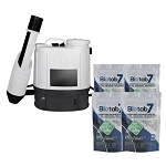 Sanifog SF500ES Electrostatic Disinfectant Backpack Sprayer 100% Off with Biotab7 Tablets