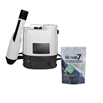 Sanifog SF500ES Electrostatic Disinfectant Backpack Sprayer 25% Off with Biotab7 Tablets