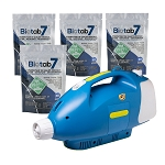 Sanifog SF230 Cordless Disinfectant Sanitizing Fogger 100% Off w/ Biotab7 Tablet