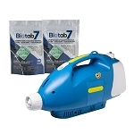 Sanifog SF230 Cordless Disinfectant Sanitizing Fogger 50% Off w/ Biotab7 Tablet