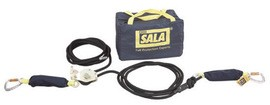 DBI/SALA 2200405 37' Sayfline Horizontal Synthetic Kernmantle Rope Lifeline System (Includes Tensioner, Energy Absorbers And Carrying Bag) For Use With Mobi-Lok Vacuum Anchor Systems