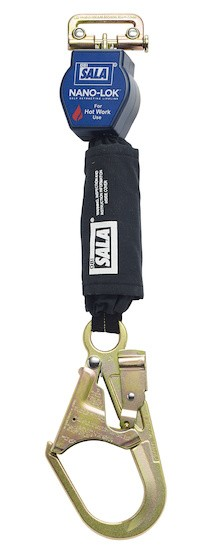 DBI/SALA 3101493 Nano-Lok Quick Connect Self Retracting Lifeline - For Hot Works Use