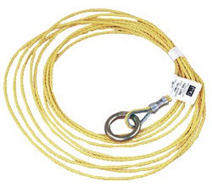 DBI/SALA 7211857 25' 3/16 Polypropylene Rope Tagline With O-Ring