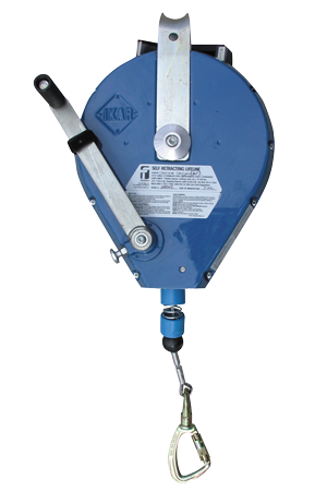 Falltech 7287 Duratech 82' 3 Way Retrieval Self Retracting Lifeline with Galvanized Cable