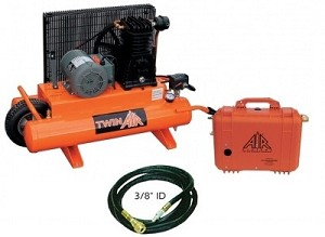 Air Systems International COMP-2 TA-1 Breathing Air Compressor System