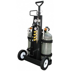 Air Systems MP-2L MP 2L MULTI PAK SCBA Confined Space Air Cart